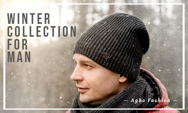 Winter collection for man