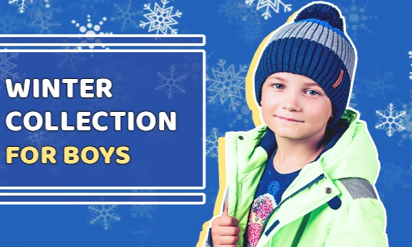 Boys winter collection